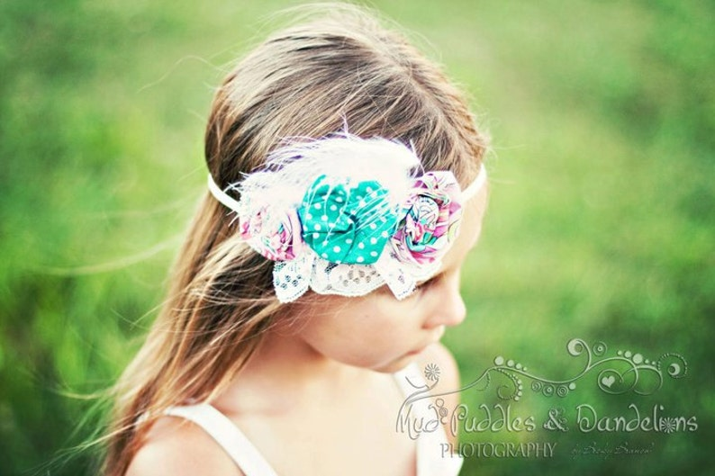 INSTANT DOWNLOAD Lily Headband PDF Pattern How to Ebook with a image 0