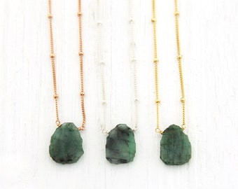 Necklaces • Raw Stone