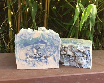 Heaven Dream Handmade Soap | Hot Process Soap | Handcrafted Shea & Cocoa Butter Soap, 5 oz.
