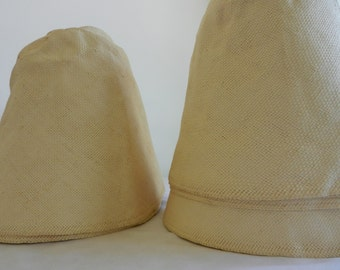 Vintage Natural Toyo Millinery Hood-Other Colors available.