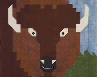 Bison Quilt Pattern - PDF