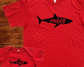 7bea23adb275c Baby Shark Daddy Shark Mommy Shark - Sister Brother Matching Tees Family T  Shirts Matching Baby Men Father Son Daughter Women Kids TShirts