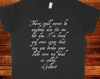777e24bcd5 Anne of Green Gables Womens Shirt - Gilbert Blythe Loves Anne Shirley Quote  Proposal - PolyCotton Blend Womens Shirt - Gift Friendly