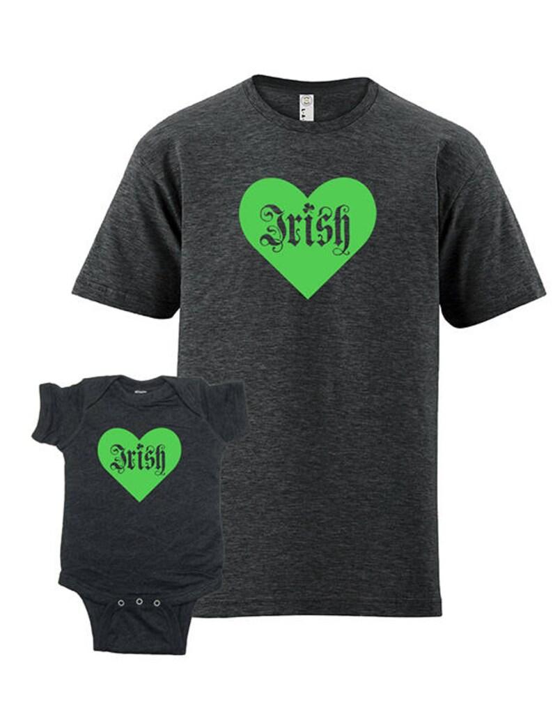 169038d29 Father Child Matching St. Patricks Day Matching Irish Father | Etsy
