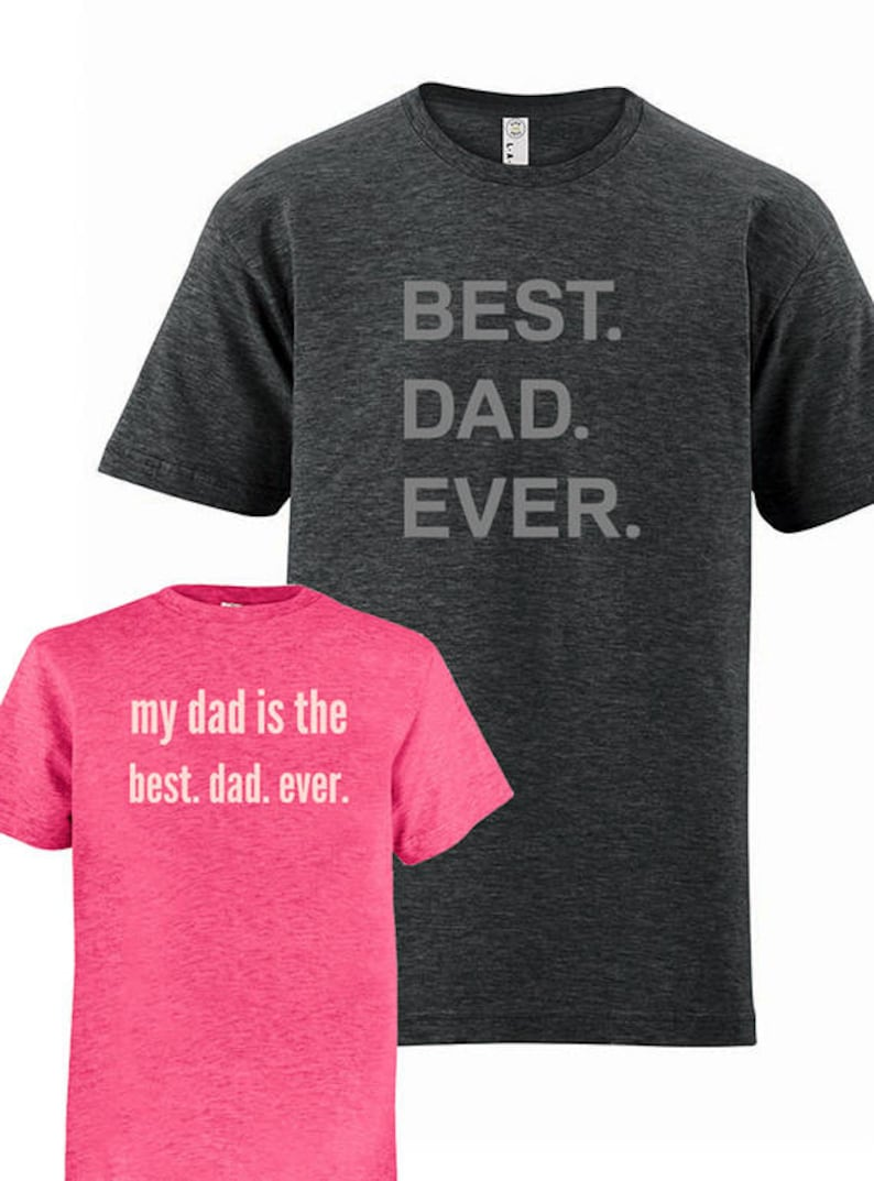 28c1681f Father Daughter Matching Tees Dad Father Daughter Shirts Best | Etsy