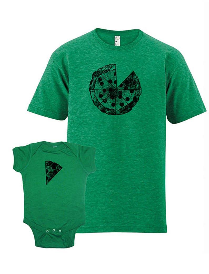 fe57f2bcf Father Child Matching Father Baby Shirts Pizza T shirts | Etsy