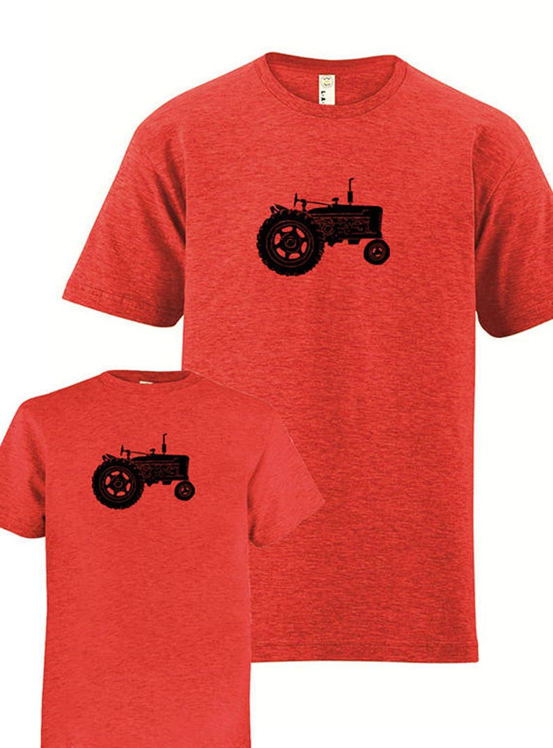 96e4c449f Matching Father Daughter Shirts Tractor Farm T shirts | Etsy