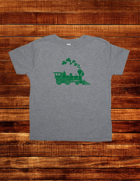 Distressed Shamrock Youth T-Shirt Tee Kids Irish Green St Patricks Boys Girls