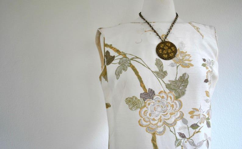 vintage 80s 90s hawaiian floral dress size 8