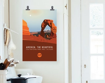"2021 ""America, the Beautiful"" National Parks Wall Calendar"
