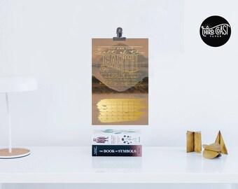 """2018 """"Beatitudes"""" Mini Calendar"""