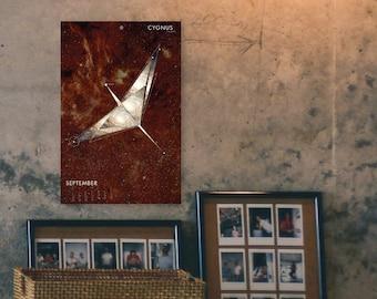"2021 ""Stargazing"" Constellation Wall Calendar"