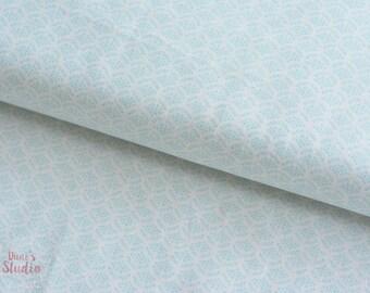 19,-   EUR/m  Baumwollstoff hellblau High Tea Collection Mini Fans Blue Lecien Jera Brandvig