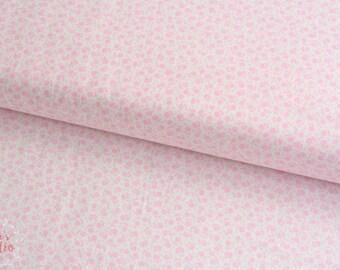 19,-   EUR/m Moda Guest Room Kristyne Czepuryk Baumwollstoff Blümchen Pastell Rosa Millefleur Patchworkstoff Floral Dots Pink