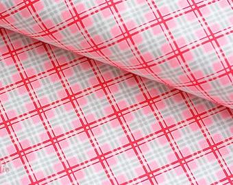19,-   EUR/m Lakehouse Holly Holderman Farmers Market Baumwollstoff Plaid Red Rot