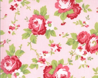 EUR19,40/m Moda Sophie Rosenstoff Rosa Main Floral Blossom, 0,25 m