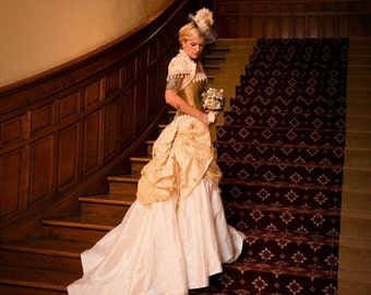 fe41d92ea2 Steampunk wedding dress