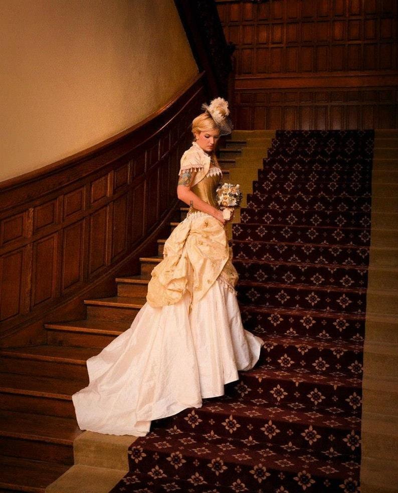 Steampunk Wedding Dress Steampunk Wedding Steampunk Bride  d19c99b8f30