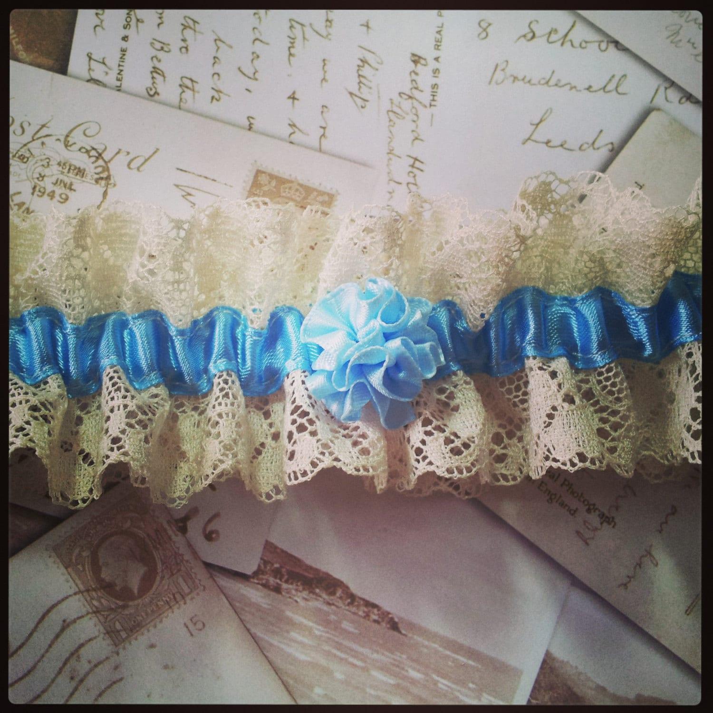 Vintage Lace Garter Wedding Garter Bridal Garter Lace