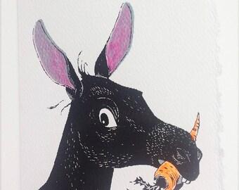 little donkey card
