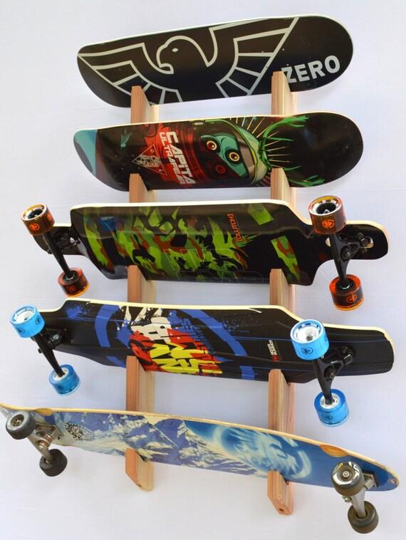 Porta Skateboard Da Muro.Skateboard Longboard Wall Rack Mount