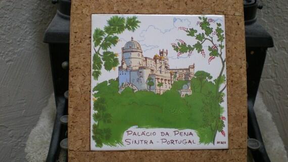 Sottopentola piastrella portogallo bellissima arte porcellana etsy