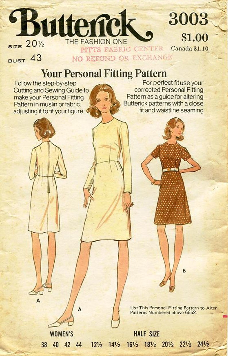 Butterick 6652 Woman/'s Top and Pants