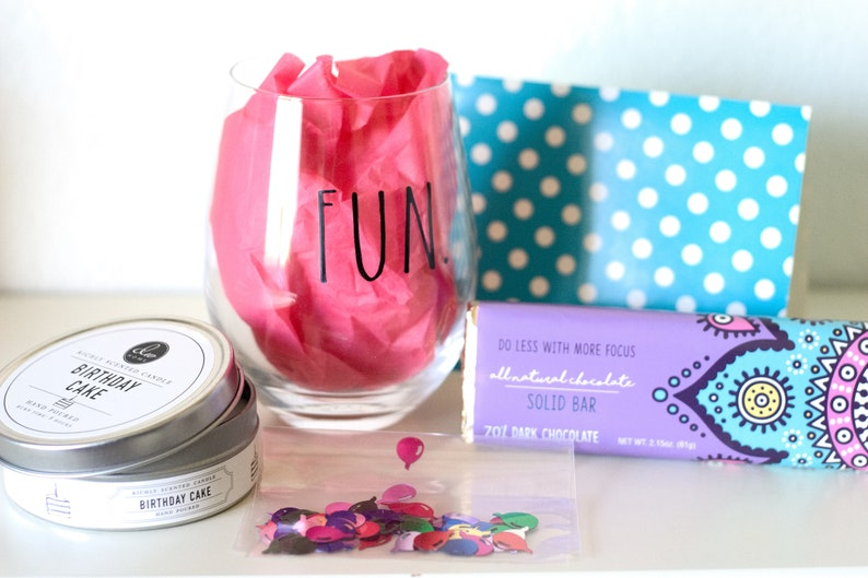 Birthday Gift Box Box Of Blessings Celebrate You Friend S Box Happy Birthday Gift Set Custom Birthday Gift Ideas Box Of Blessings