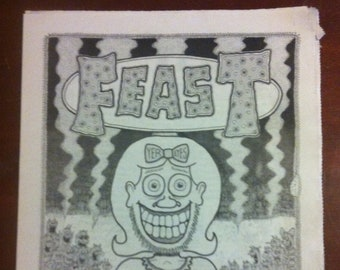 FEAST yer eyes 2011 A New Orleans Comix Anthology