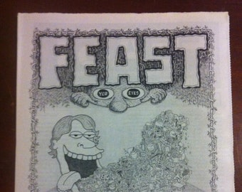 FEAST yer eyes 2010 --- A New Orleans Comix Anthology