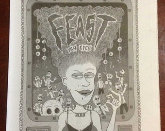 FEAST yer eyes 2013 A New Orleans Illustration & Comix Anthology