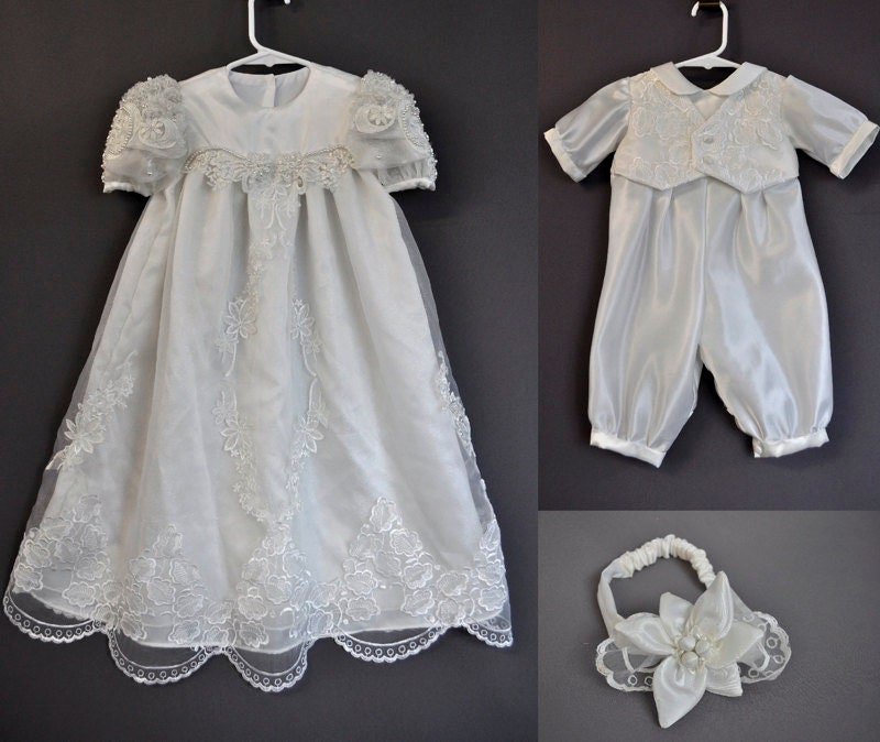 Christening Gowns From Wedding Dresses: Your Wedding Dress Turned Into Christening Gown And Romper