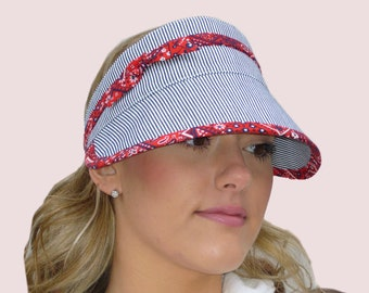 SEWING PATTERNS  Sun Visors With Ties c2ef1303514