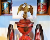 1873 No. 7 Enterprise Centennial Edition Coffee Grinder with Large Eagle Fennel Top