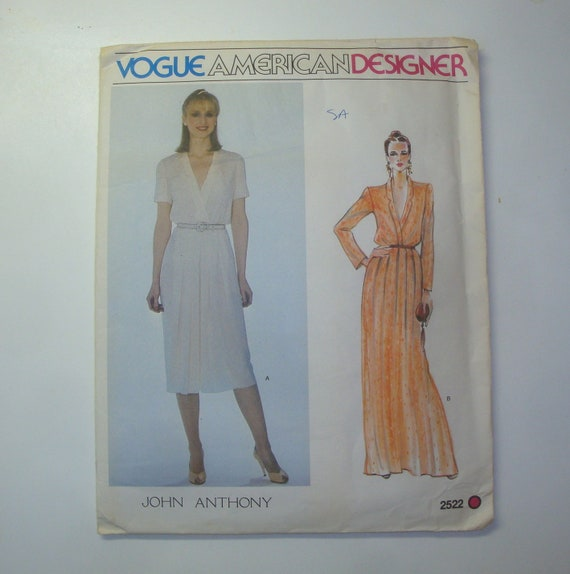 Your Choice Of VOGUE Sewing Patterns Designer Some Vintage Women 80/'s 90/'s UNCUT