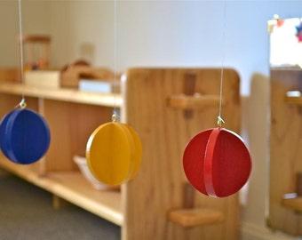 Montessori Baby Mobile - Primary Colors Mobile
