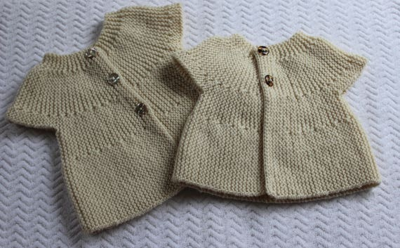 Bebeknits Easy European Summer Baby Cardigan Knitting Pattern Etsy