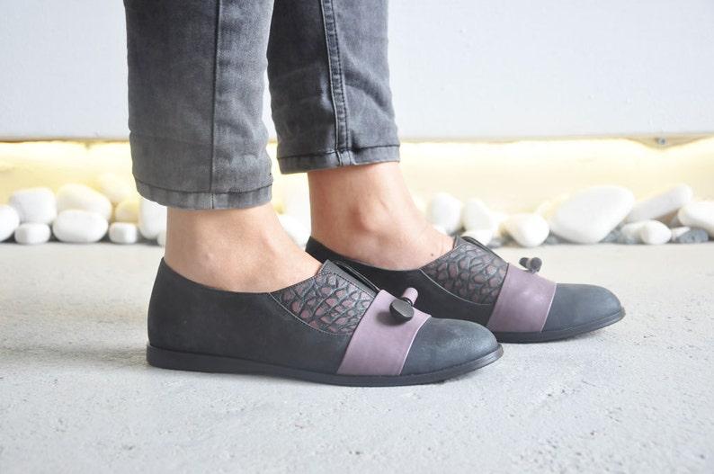 f1fbf4561702e KORIN - Purple - FREE SHIPPING - Handmade Leather Women Flat Shoes  2016-2017 Winter Collection