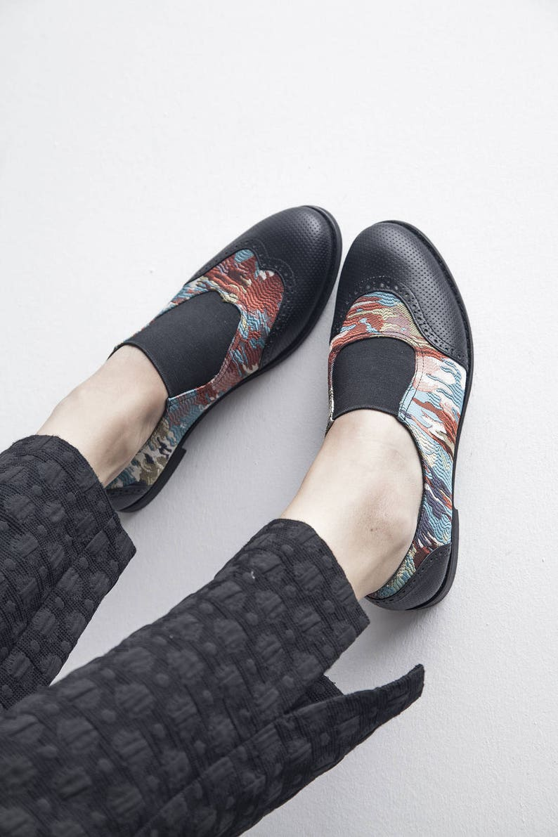 6844a43970c1b Jekyll Hyde - Rainbow - FREE SHIPPING - Handmade Leather Women Flat Shoes  2018 Summer Collection
