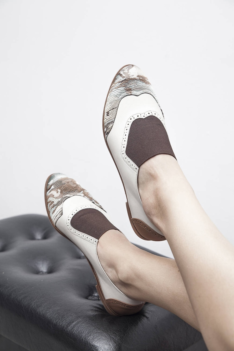 06935b01977c5 Jekyll Hyde - Brown - FREE SHIPPING - Handmade Leather Women Flat Shoes  2018 Summer Collection