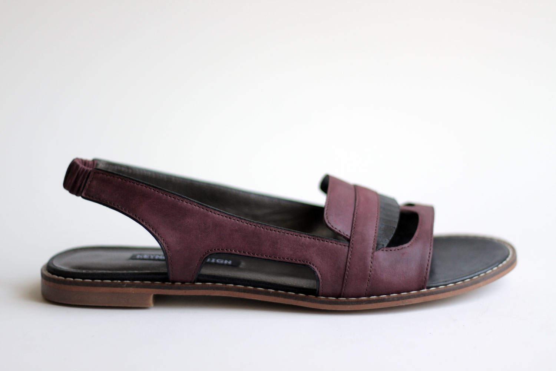 GHIBLI SHIPPING - Burgundy - FREE SHIPPING GHIBLI Handmade Leather Shoes Summer Collection 2017 32f40b
