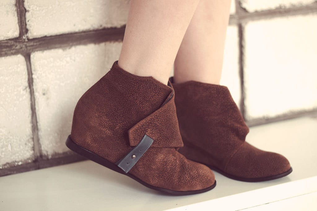 JACKIE - Ginger color with - Handmade Women Shoes with color winter sale price a0f916