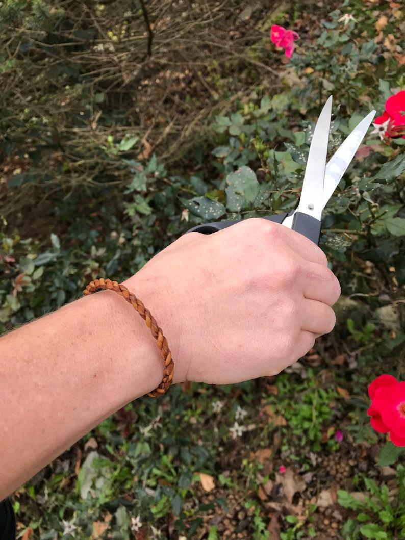 Women's Corded Deerskin Bracelet image 0