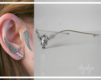 Wings set- statement jewelry