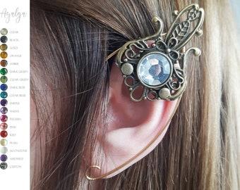 Elven ear cuff- statement jewelry- statement jewelry