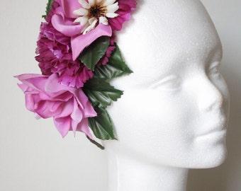 flower headpiece . special price