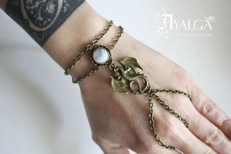 7. Dragon Personalisable ´Slave Style´ bracelet