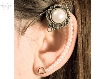elven ear - ear cuff - elvish earring - elf ear- statement jewelry- statement jewelry