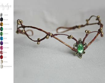 Woodland elf tiara - elven headpiece - fairy crown- woodland tiara - circlet