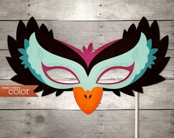 DIY Printable Black Swan Mask